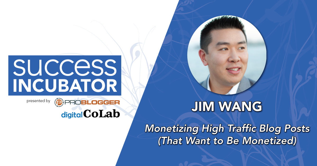 Jim Wang at Success Incubator